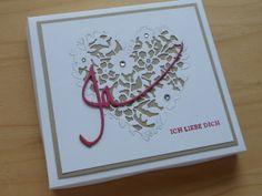 Verpackung für Hochzeitskarte, Gutschein oder Geldgeschenk.