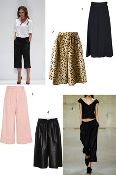 6 Ways to Wear Culottes Now (and Later)
