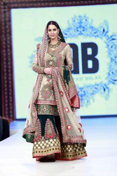 Sharara- 2016 Shaan-e-Pakistan Ahmed Bilal Dresses Collection Photos -