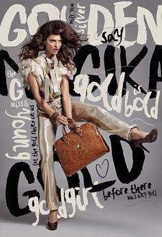 Lenka Srsnova Fashion Editorial by Veronika Licakova