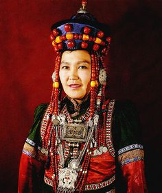 Buryat woman | Unfortunately date and photographer details not provided at the source.