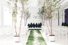 Indoor garden wedding - love, love, love! Photography by angelicaglass.com, Floral Design by patsfloraldesigns.com