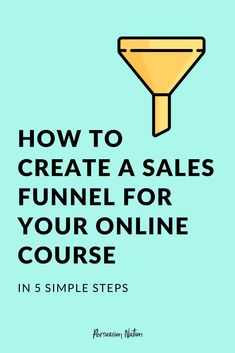 Want to sell your online course on autopilot? Having a sales funnel in place allows you to literally make money while you sleep. In this post, we'll share 5 steps to create a sales funnel for your online course. Digital Marketing Strategy, Content Marketing, Affiliate Marketing, Online Marketing, Marketing Strategies, Internet Marketing, Sales Strategy, Marketing Plan, Marketing Tools