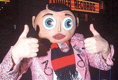 Chris Sievey: The man behind the papier-mâché mask of Frank Power Pop, Britpop, 8 Bit, Comedians, The Man, Photos, Frank Frank, British Museum