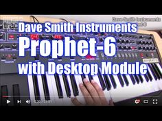 Dave Smith Instruments  PROPHET-6  Demo & Review [English Captions]