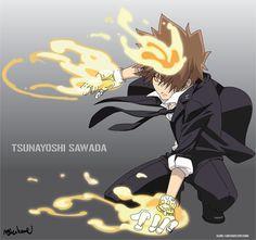 Tsunayoshi Sawada #REBORN