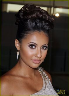 francia raisa - great color combos  nude & sophisticated