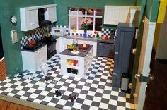 Kitchen: A LEGO® creation by Paula G : MOCpages.com