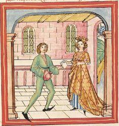 Pontus und Sidonia — Stuttgart (?) - Werkstatt Ludwig Henfflin,  um 1475  Cod. Pal. germ. 142  Folio 115v