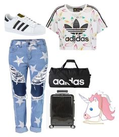 """""""Untitled #32"""" by rekac on Polyvore featuring adidas Originals, adidas, Salsa and Nila Anthony"""