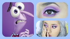 Inside Out 'Fear' Inspired Makeup Fear Inside Out Costume, Movie Inside Out, Disney Inside Out, Disney Inspired Makeup, Disney Makeup, New Pixar Movies, Up Costumes, Costume Ideas, Character Makeup