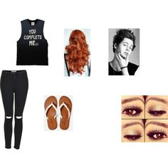 """""""Your date with Luke Hemmings"""" by mspgy01 on Polyvore"""