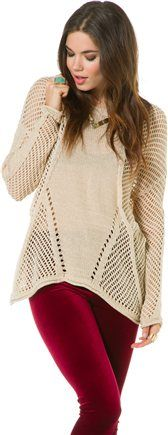Belle Dolman sweater @SWELL Style Style http://www.swell.com/Womens-Sweaters/BELLE-DOLMAN-SWEATER?cs=TP