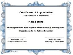 Free certificate of appreciation sample blank certificate of certificate of appreciation 15 yelopaper Image collections