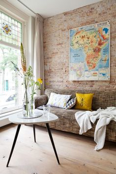Salón de estilo vintage industrial - Deco & Living