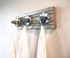 Cookie Cutter Hook Rack by bluebirdheaven on Etsy, $42.00