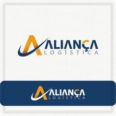 Criação de logo - Projeto Aliança Logística  #logovia #logodesign #logomarca