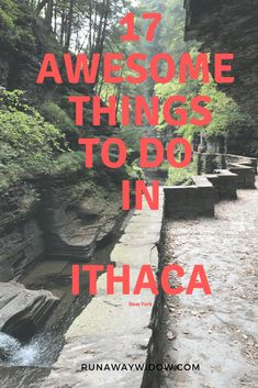 Upstate Ithaca, New York full of scenic gorges, hikes, kayaking on Lake Cayuga and visiting Cornell or Ithaca college. Ithaca College, Stuff To Do, Things To Do, Summer Vacation Spots, Vacation Ideas, Lake George Village, Upstate New York, All I Ever Wanted, New York Travel