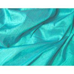 Turquoise Periwinkle Blue Iridescent Dupioni Silk Fabric