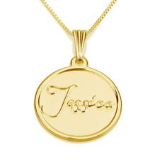 Personalized Custom 24k Gold Plated Engraved 3 Heart Mother Necklace Jewelry