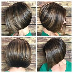 Attractive and Creative Hairstyles for Short Bob Hair - Page 3 of 4 Attraktive und kreative Frisuren Bob Haircuts For Women, Short Bob Haircuts, Fine Hair, Wavy Hair, Creative Hairstyles, Short Hair Cuts, Hair Trends, Curly Hair Styles, Hair Color