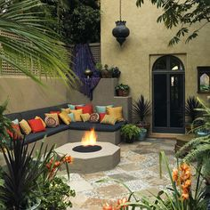 Mediterranean Patio Design Ideas, Pictures, Remodel and Decor