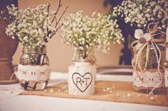 Buralp Wedding Vase {rustic wedding chic}