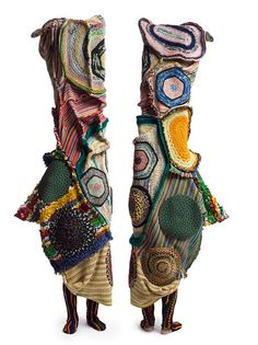 Nick Cave 'Soundsuit' Exhibition: Shainman and Mary Boone Galleries Sculpture Textile, Soft Sculpture, Textiles, Nick Cave Artist, Nick Cave Soundsuits, Impression Textile, Design Textile, Chicago Artists, Crochet Art