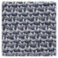 Crochet Stitches Patterns, Knitting Stitches, Stitch Patterns, Learn To Crochet, Diy Crochet, Crochet World, Square Patterns, Felt Fabric, Beautiful Crochet