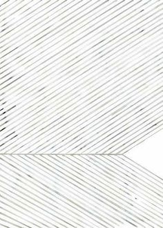 LEAF LINES GREEN Print - Grøn + White   - 1