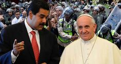 """¡EL PAPA CONTINUA MEDIANDO POR EL DIABLO! MUD amplió a 7 """"exigencias"""" para mantener monólogo con la Dictadura"""