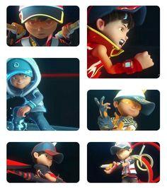 Galaxy Movie, Boboiboy Galaxy, Mobile Logo, Elemental Powers, Ali, Hero, Friends, Awesome, Fictional Characters