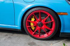 Porsche 997 911 GT3 RS Wheel Close Up [4272  2848][OC]