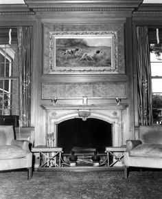 room with fireplace mantel - - #fireplace #fireplaces #fireplacemantels #room #décor #interiors