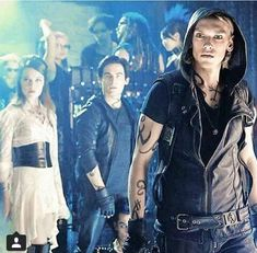 The Mortal Instruments Dary Anioła Jace Isabelle Alec