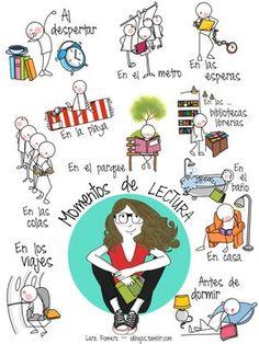 Momentos de lectura