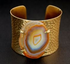 REEF agate brass cuff. Like Cimber Designs on FB to find out how you might be able to get it on sale. www.facebook.com/cimberdesigns