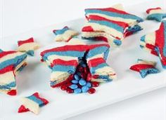 Star pinata sugar cookies -- there's a surprise inside!