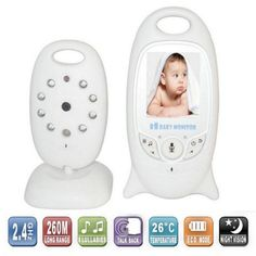 Infant 2.4 GHz Wireles Baby Radio Babysitter Digital Video Baby Monitor Audio Night Vision Music Temperature Display Radio Nanny #>=#>=#>=#>=#> Click on the pin to check out discount price, color, size, shipping, etc. Save and like it!