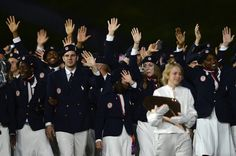 Team USA at the opening ceremony - Slideshows   NBC Olympics