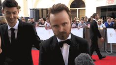 Breaking Bad's Aaron Paul has a very special message for Ricky Gervais...