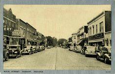 Main Street Hobart, IN.