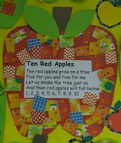 Activity for 10 Apples Up On Top