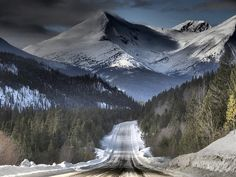 Our drive to Iskut won't be this snowy but it will be just as beautiful!