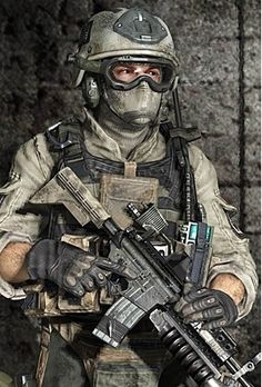 U.S Army Delta Force solider.