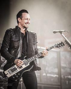 Michael Poulsen of Volbeat... Jesus Christ, he is so fucking hot.