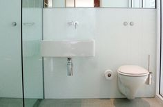 Glass Bathroom Walls - Decoglaze