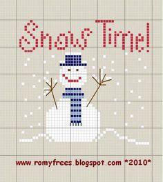 Romy's Cross Stitch Patterns: inverno