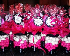 Mickey Mouse Baby Food Jar Party Favors by Stinkystuffs on Etsy                                                                                                                                                     More