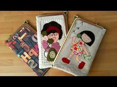 How to do a case of mobile Frame Purse, Mobile Cases, Love Sewing, Applique, Coin Purse, Pouch, Quilts, Purses, My Love